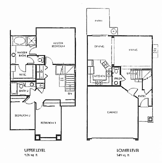 Three Bedroom - Two Car Garage