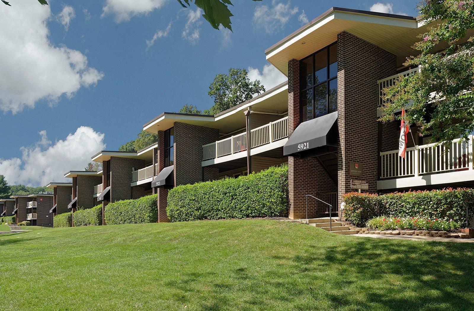 Green Surrounding, at Brook View Apartments, 5921 Western Run Drive , Baltimore