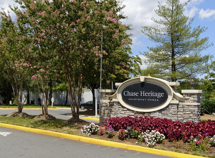 Gated Entrance at Chase Heritage Apartments, Sterling, VA,20164