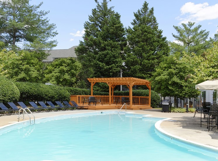 Pool Cabana & Outdoor Entertainment Barat Chase Heritage Apartments, Sterling, VA,20164