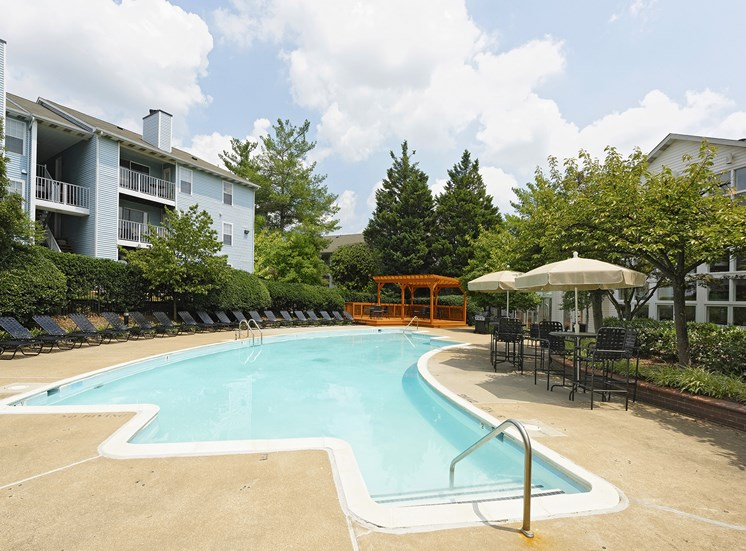 Resort-Style Zero-Entry Poolat Chase Heritage Apartments, Sterling, VA,20164