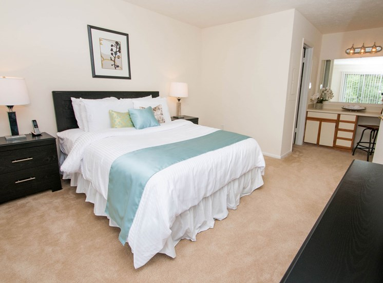 Live in cozy bedrooms at Chase Heritage Apartments, Sterling, VA,20164
