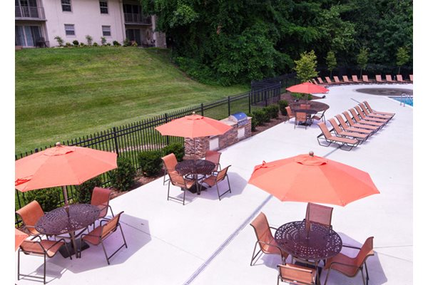BBQ Grill & Picnic Area at Courthouse Square Apartments, 1112 Ivywood Lane, 21286