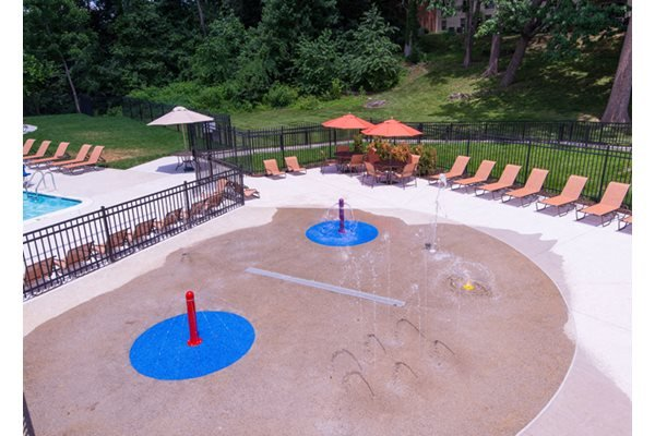 Swimming Pool with Free Wi-Fi and Splash Pad at Courthouse Square Apartments, 1112 Ivywood Lane, Towson