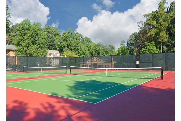 Synthetic Tennis Courts at Courthouse Square Apartments, Towson, MD,21286