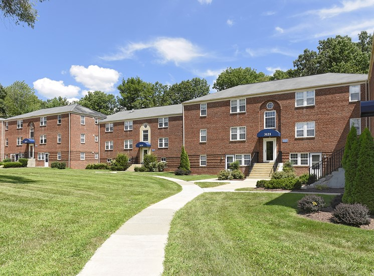 Walking Trails at Cross Country Manor Apartments, Baltimore, MD,21215