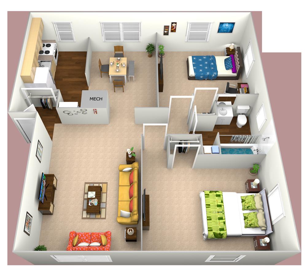 1 2 Bedroom Apartments In Baltimore Cross Country Manor Floor Plans