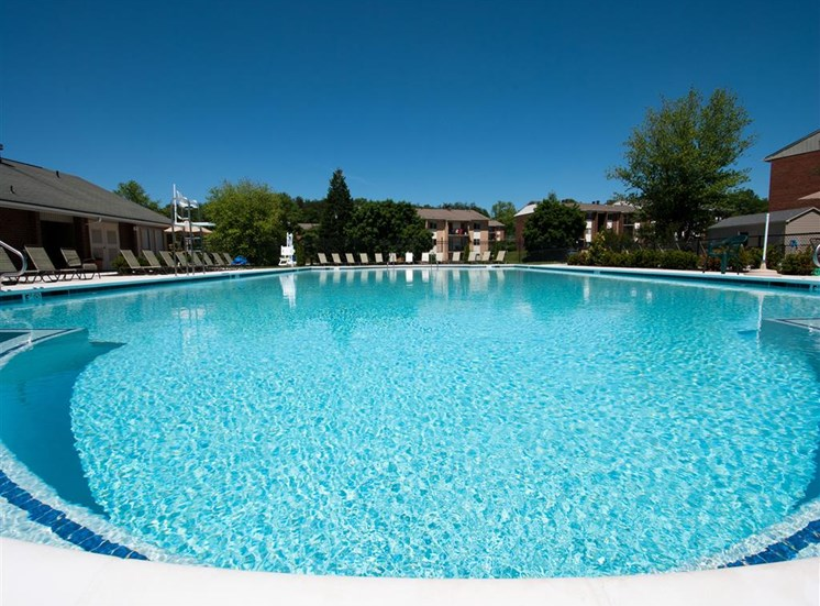 Resort-Style Zero-Entry Pool  at Doncaster Village Apartments, Parkville, MD,21234