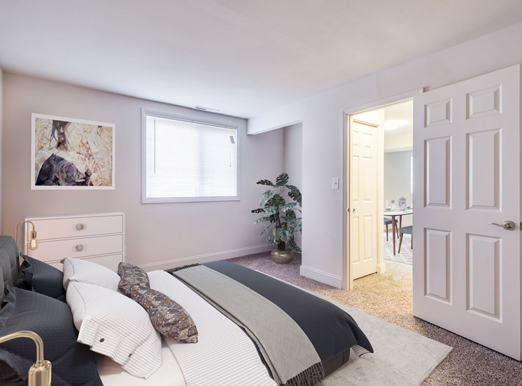 Doncaster Village renovated bedroom