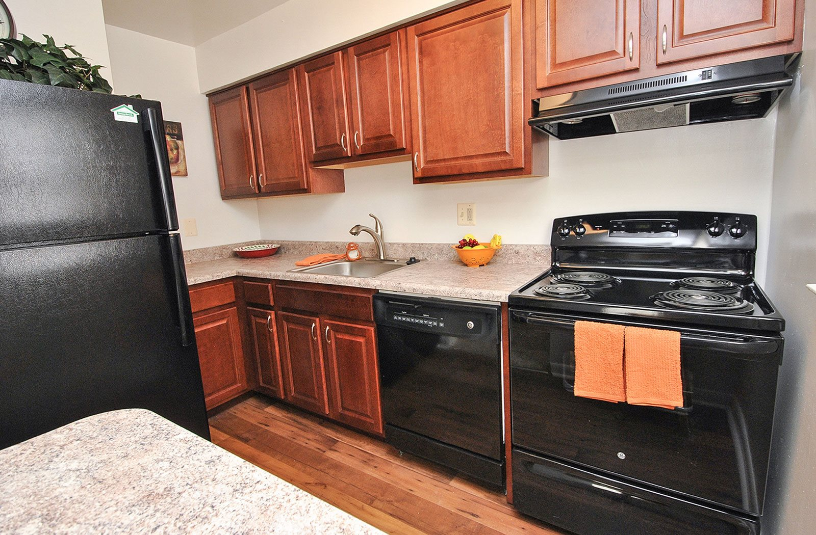 New Countertops and Cabinets at Donnybrook Apartments, Towson, MD, 21286