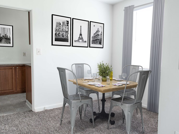 Defined Dining Space, at Donnybrook Apartments, Towson, 21286