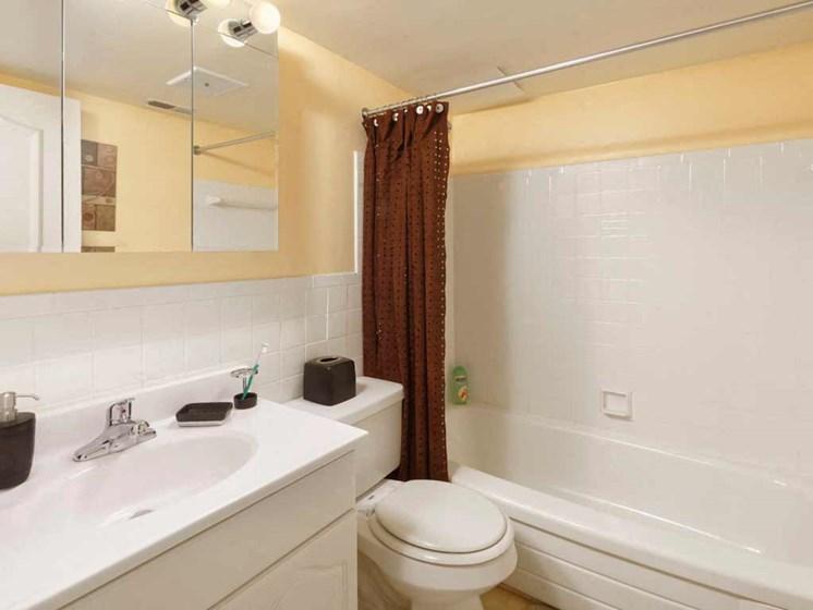 Spacious Bathrooms at Kenilworth at Charles Apartments, Towson, MD,21204