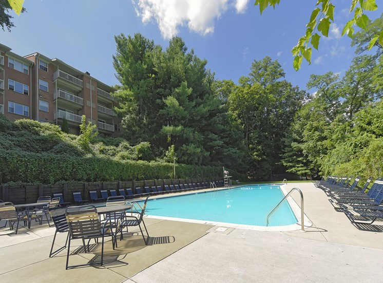 Resort-Style Zero-Entry Pool at Kenilworth at Charles Apartments, Towson, MD,21204