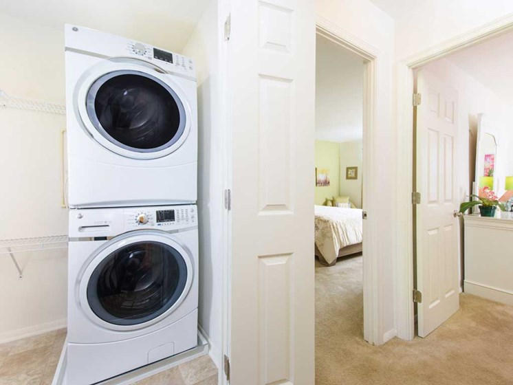Washer and Dryer, Kenilworth at Perring Park Apartments, Parkville, M