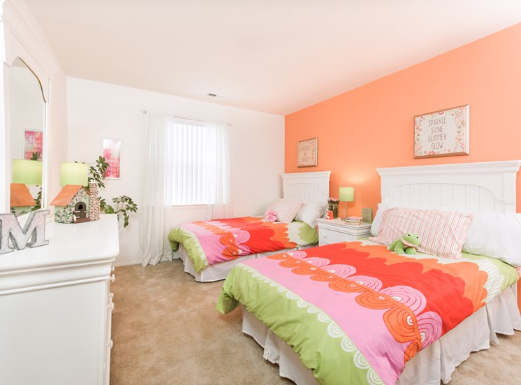 Spacious Bedrooms, Kenilworth at Perring Park Apartments, Parkville, M