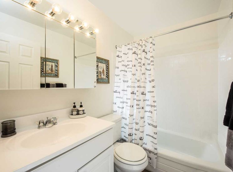 Bathroom, Kenilworth at Perring Park Apartments, Parkville, M