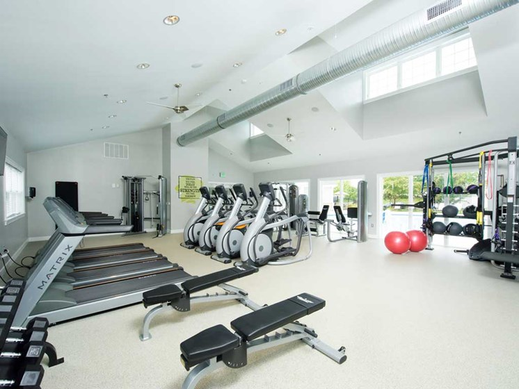 Fitness Center, Kenilworth at Perring Park Apartments, Parkville, MD