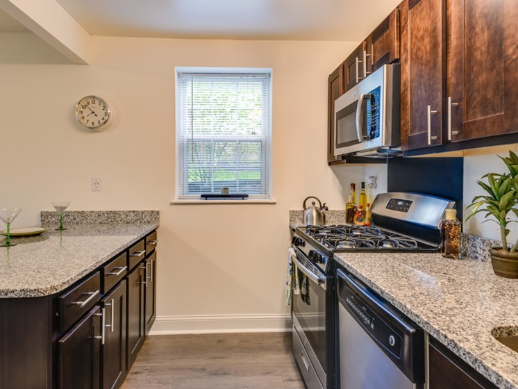 Spacious,  Renovated Kitchen, Open Kitchen, Renovated, Kenilworth at Perring Park Apartments, Parkville, MD