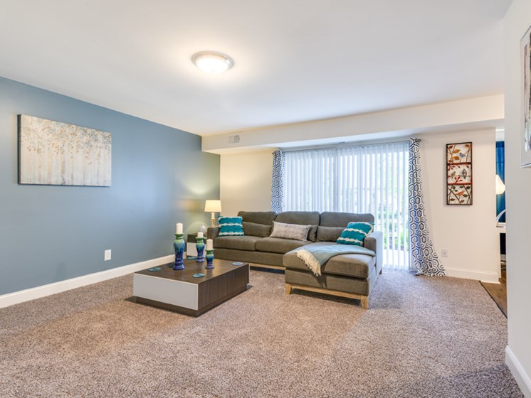 Spacious Living Room, Renovated, Kenilworth at Perring Park Apartments, Parkville, MD