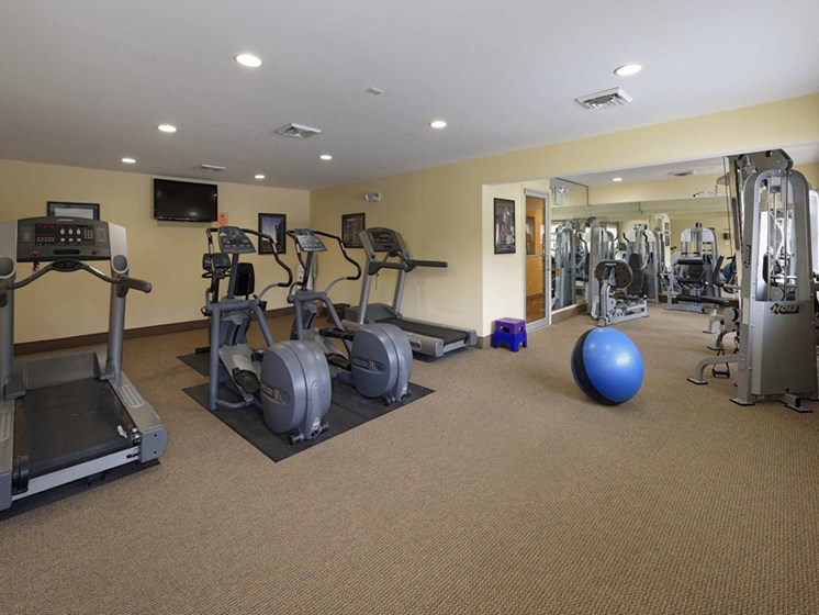 24-Hour Fitness Center at McDonogh Township Apartments, Owings Mills, MD, 21117