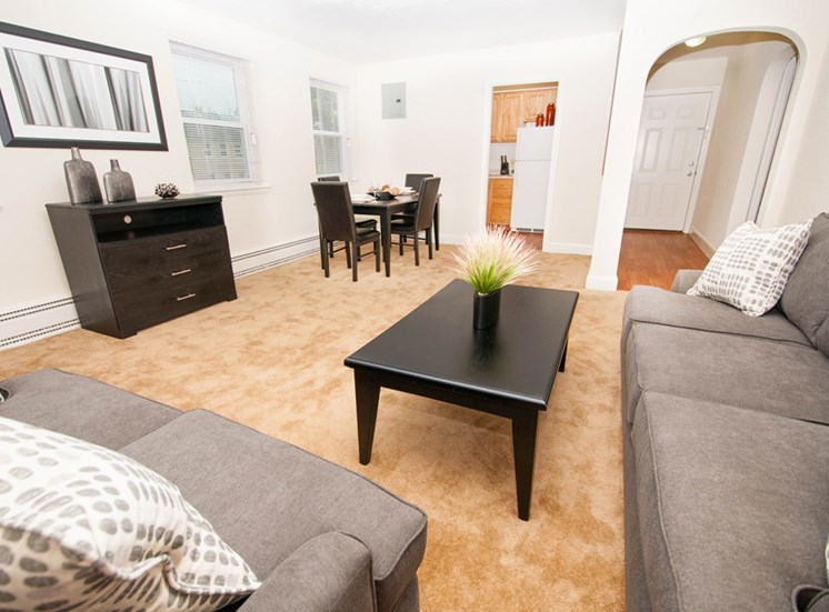 Luxurious Living Room at Mount Ridge Apartments, Baltimore, MD,21228