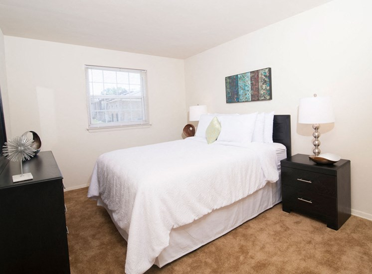 Bedroom at Northwood Ridge Apartments and Townhomes, Baltimore, MD