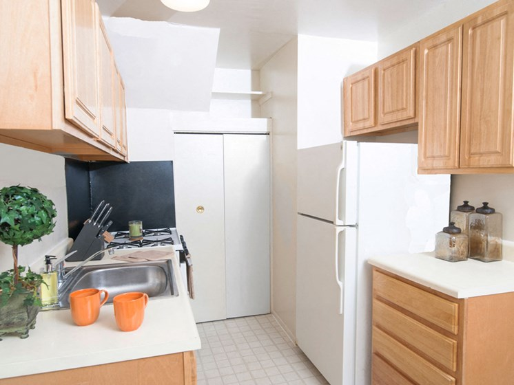 Kitchen at Northwood Ridge Apartments and Townhomes, Baltimore, MD