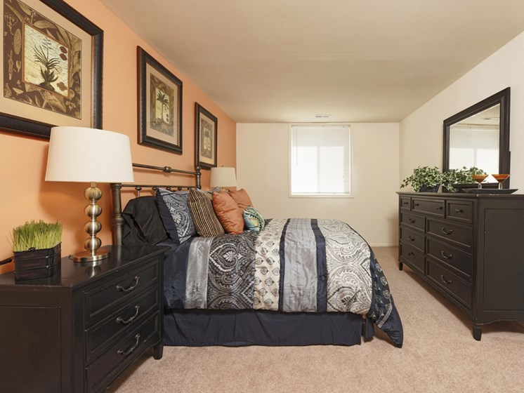 Live in cozy bedrooms at Padonia Village Apartments, Timonium, MD,21093