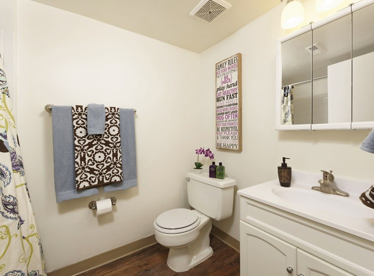 Solid Cultured Marble Bathroom Counter Tops at Padonia Village Apartments, Timonium, MD,21093