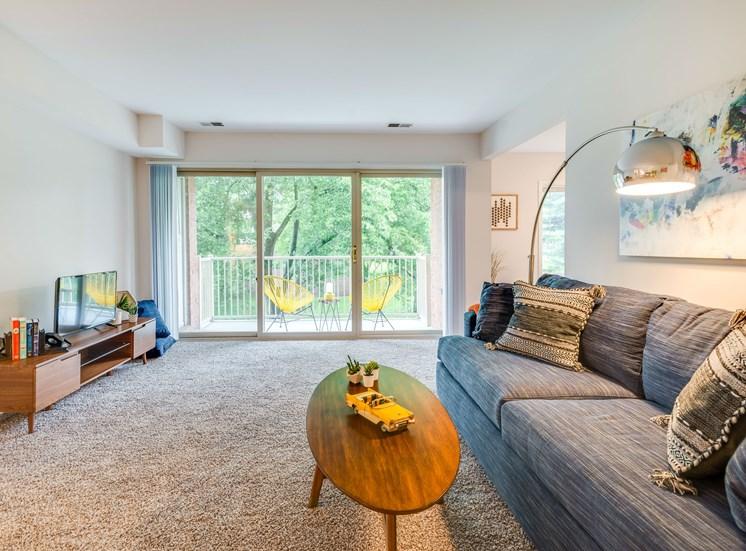 Padonia Village Living Room Renovated