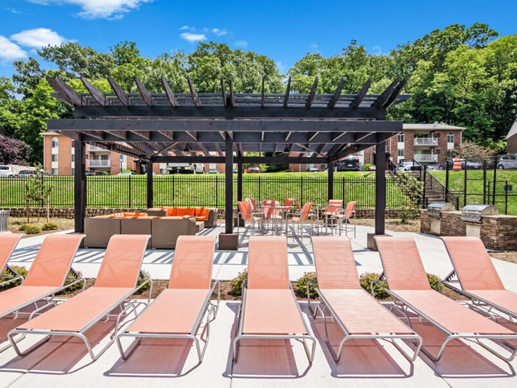 Chaise Lounge Chairs, Brand New Swimming Pool  at Padonia Village Apartments, Timonium, MD,21093