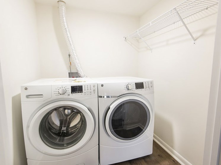 Washer and Dryer at Padonia Village Apartments