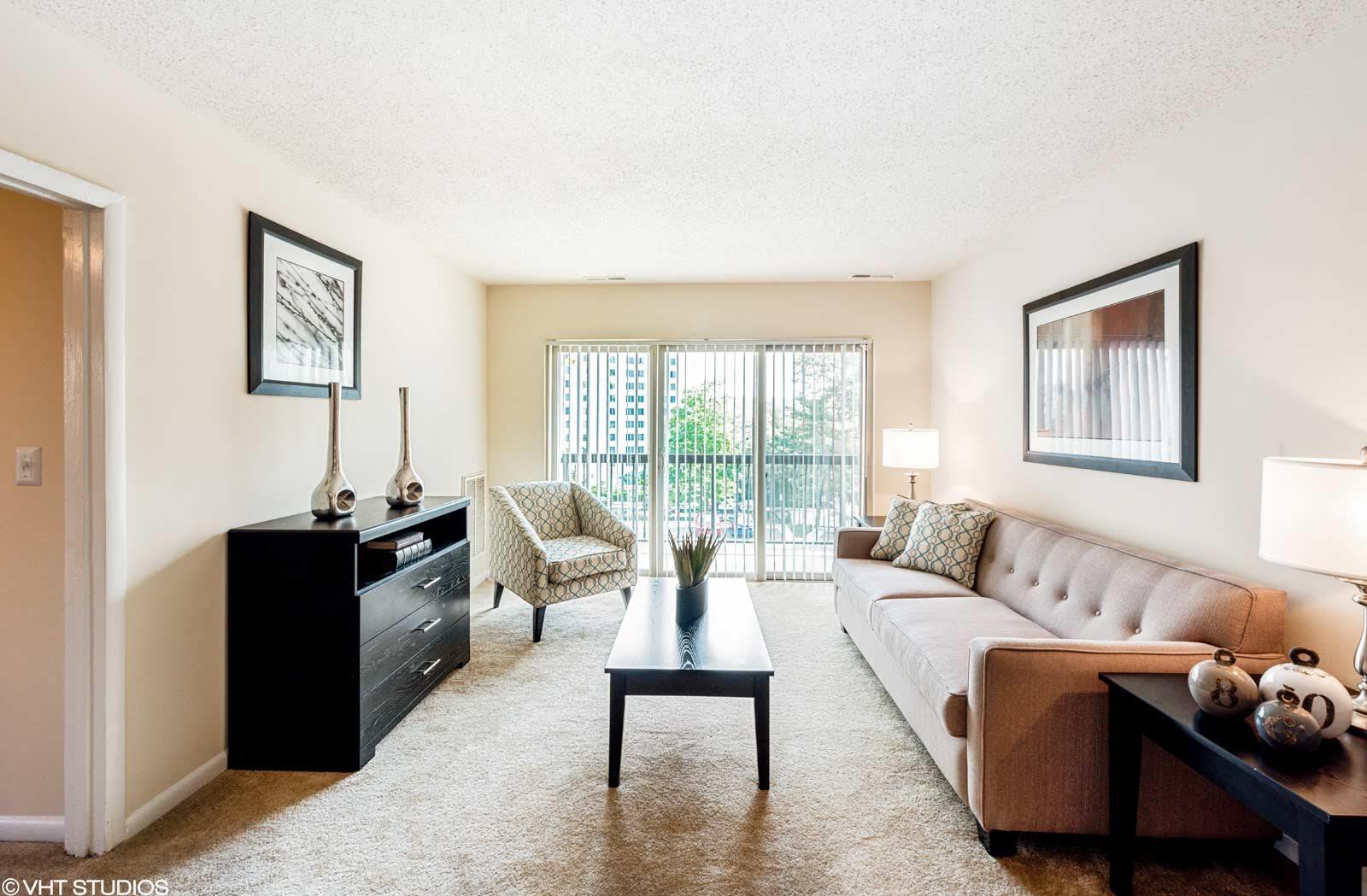 Spacious Living Areas, 101 North Ripley Apartments, Alexandria, VA