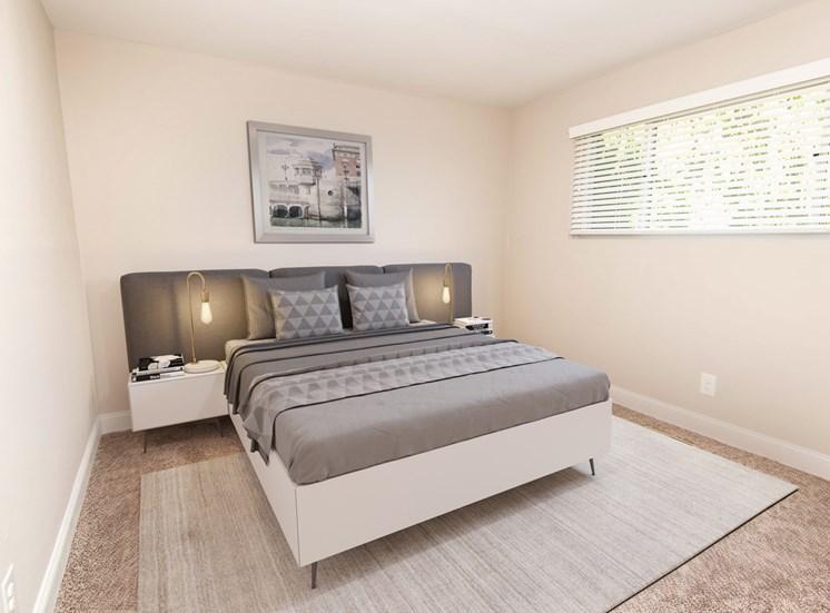 Stevenson Lane Towson Renovated Bedroom