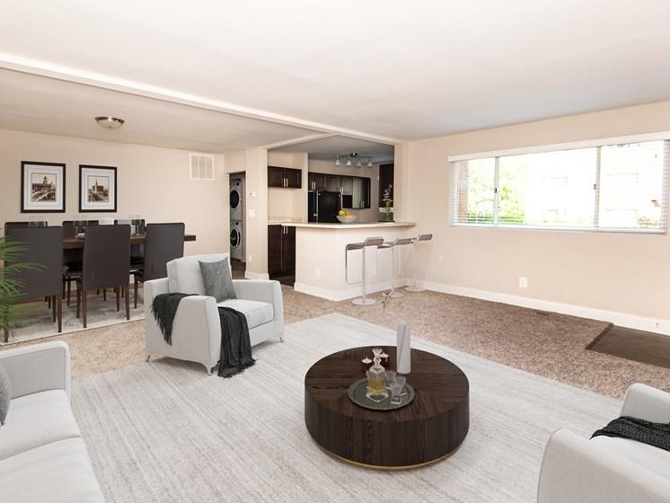 Stevenson Lane Renovated Living Area