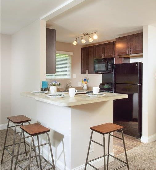 Eat-in Kitchens     at Stevenson Lane Apartments, Towson, MD,21204