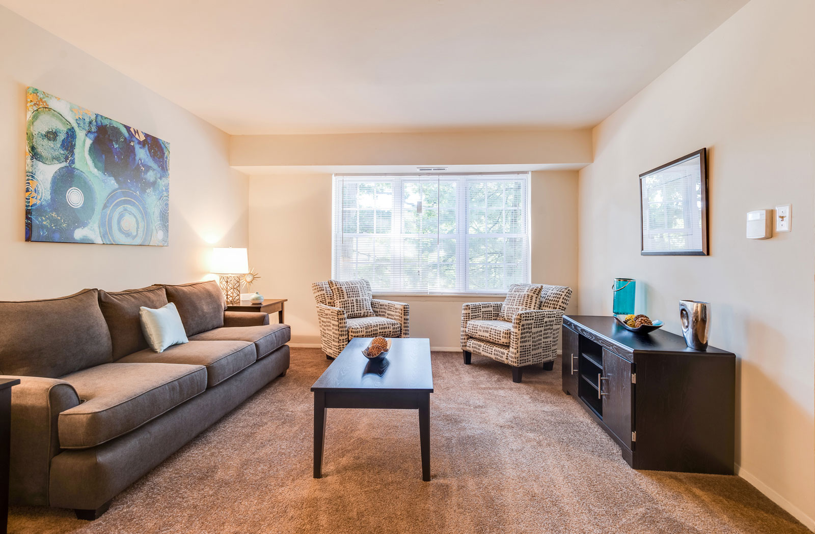 Spacious Living Areas, The Reserve At Quiet Waters Apartments, Annapolis, MD