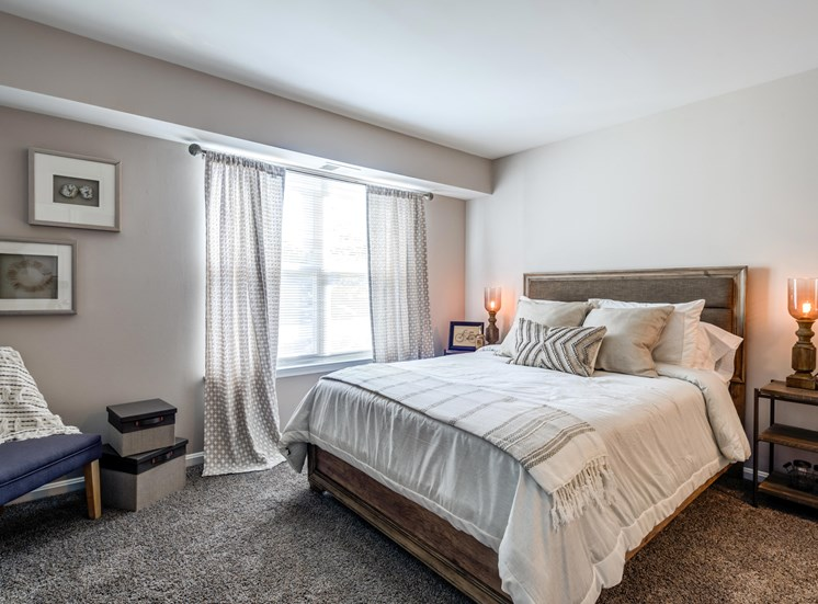 Spacious Bedroom, Crossings at White Marsh Apartments, White Marsh, MD