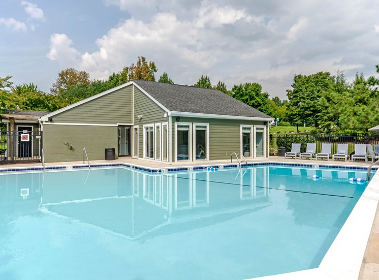 Swimming Pool, Crossings at White Marsh Apartments, White Marsh, MD
