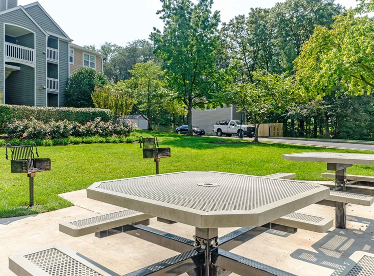 BBQ Picnic, Area Crossings at White Marsh Apartments, White Marsh, MD