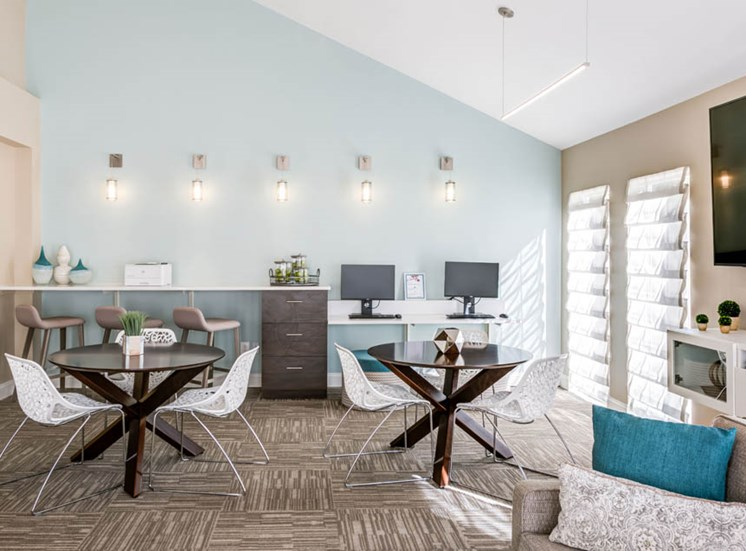 Cyber Lounge, Crossings at White Marsh Apartments, White Marsh, MD