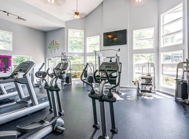 Fitness Center, Crossings at White Marsh Apartments, White Marsh, MD