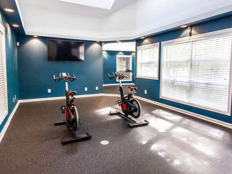 State-of-the-Art Fitness Center at The Crossings at White Marsh Apartments, Maryland
