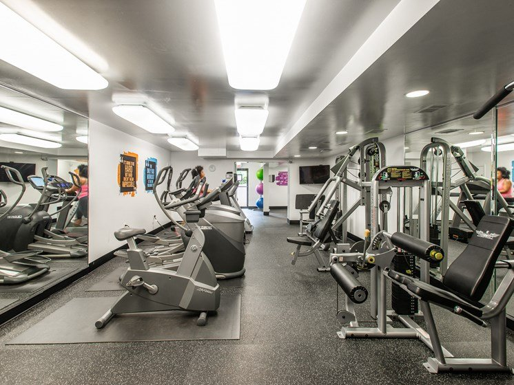 Filly Equipped Fitness Center at Falls Village