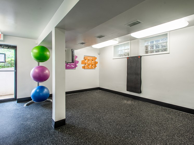 Yoga Studio at Falls Village Mount Washington Fitness Center