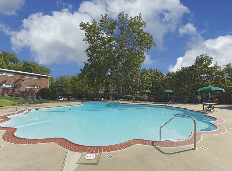 Swimming Pool Falls Village Apartments, Baltimore, MD,21209