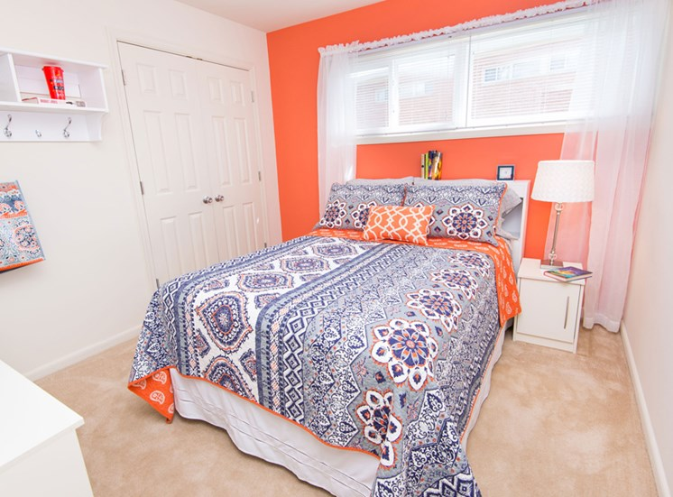 Live in cozy bedrooms Falls Village Apartments, 6222 Green Meadow Parkway, Baltimore
