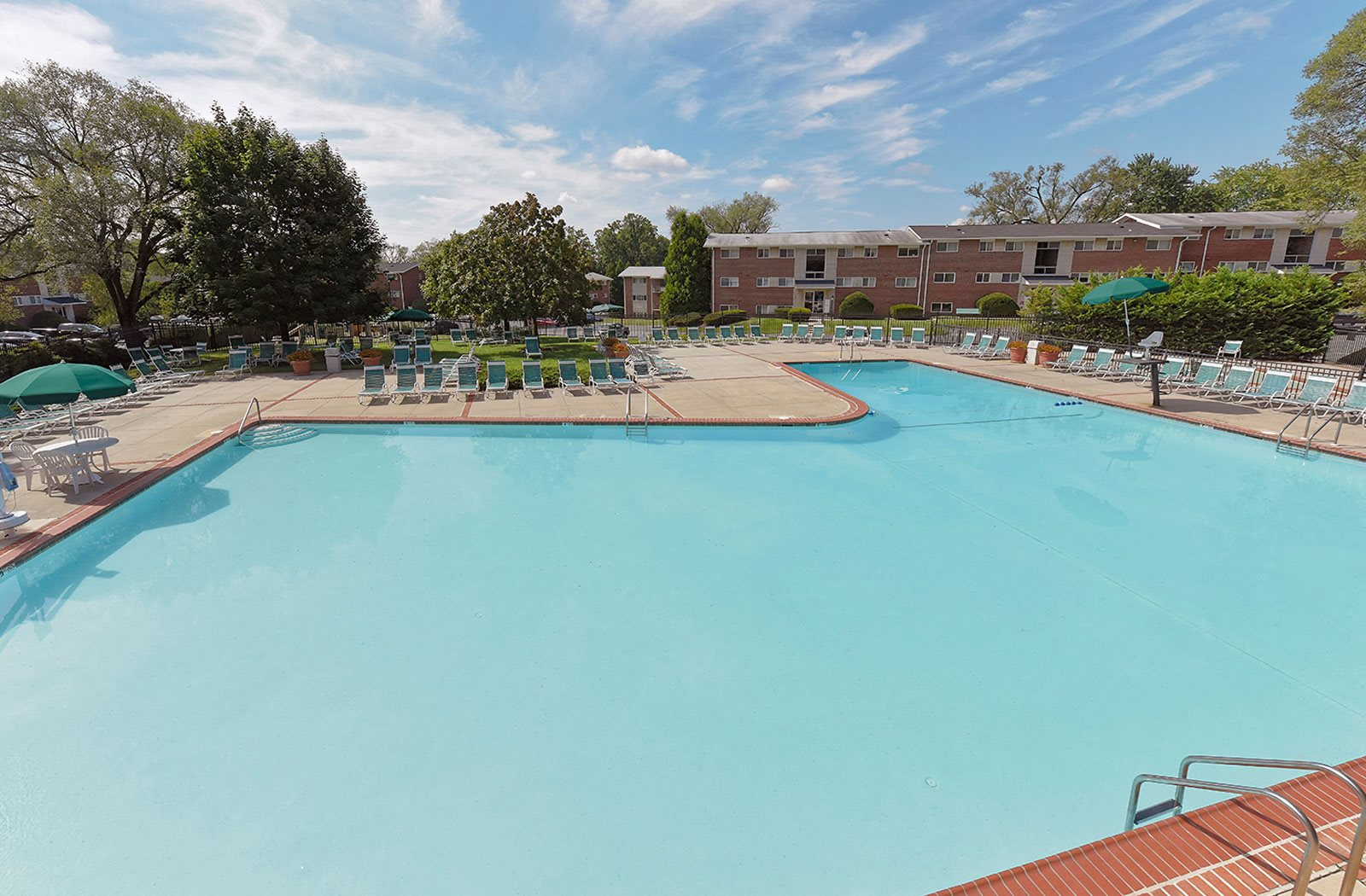 Olympic-size Swimming Pool  at Ridge Gardens Apartments, 8509 Old Harford Road, Parkville, MD, 21234
