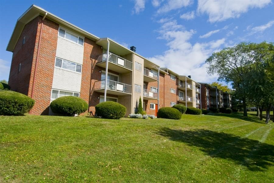 Private Balcony at Ridge Gardens Apartments, Parkville, MD, 21234