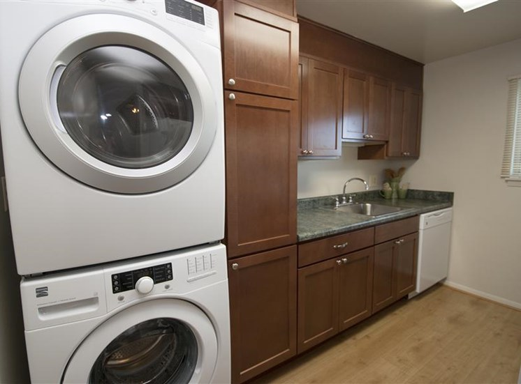 In-Home Washer and Dryer available at Ridge Gardens Apartments, Parkville, MD, 21234